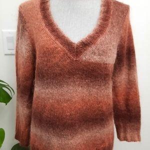 Holt Renfrew Ombre Mohair blend Sweater